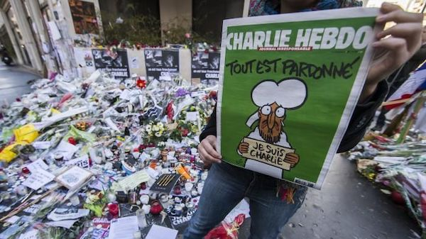 How the French reacted to the terrorist attacks from January 2015.